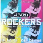 ショッピングエヴァ Everly strings Rockers #9010 エレキギター用弦×6セット