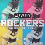 ショッピングエヴァ Everly strings Rockers #9011 エレキギター用弦×6セット