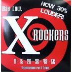 ショッピングエヴァ Everly strings X-Rockers #9111×6SET エレキギター弦