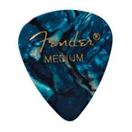 Fender 351 Shape Premium Picks Ocean Turquoise Medium ギターピック×12枚