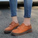 オックスフォードシューズ レースアップシューズ ビジネスシューズ ブローグシューズ 革靴 おじ靴 レディース 大きいサイズ Q209