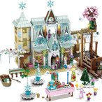 ブロック互換 レゴ 互換品 レゴ プリンセス城 雪女王 レゴブロック LEGO クリスマス プレゼント