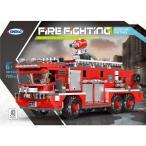 ブロック互換 レゴ 互換品 レゴ消防車 ポンプ車 レゴブロック LEGO クリスマス プレゼント