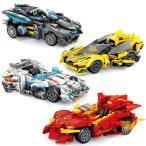 ブロック互換 レゴ 互換品 レゴスピードチャンピオン 4個Iセットクリスマス プレゼント