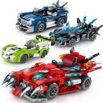 ブロック互換 レゴ 互換品 レゴスピードチャンピオン 4個Fセット互換品クリスマス プレゼント