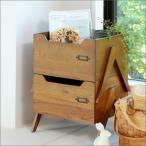 木製 スタッキング ボックス 1個 ラック 木製 収納 マガジンラック 西海岸 ブルックリン ミッドセンチュリー アジアン ヴィンテージ レトロ お洒落
