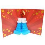 色紙 メッセージカード 二つ折り ハニカムメッセージボード APJ 富士山 グッズ 寄せ書き 卒業祝い