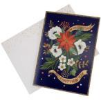 クリスマスカード Xmas シャロン・モンゴメリ 箔押 グリーティングカード SMO-1 APJ