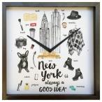 掛け時計 アート ウォール クロック パリ Good idea Clock Paris  美工社