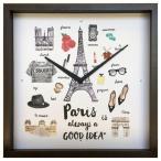 掛け時計 アート ウォール クロック ニューヨーク  Good idea Clock NewYork 美工社