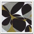 インテリア アート Hartnett Flower Power 12 デザイナーズアート 美工社 53×53cm 壁掛け 額付き 抽象画