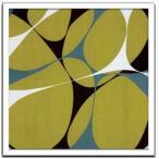 デザイナーズアート Hartnett インテリア アート Flower Power 13 美工社 53×53cm 壁掛け 額付き 抽象画 通販