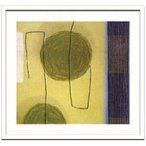 インテリア アート Sybille Hassinger Untitled 0347 デザイナーズアート 美工社 73×68cm 壁掛け 額付き 抽象画 通販