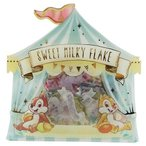 ディズニー Disney  チップ&デール フレークシール SWEET MILKY FLAKE サーカス キャラクター グッズ クラックス かわいい 手帳デコ