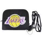 ナイロンウォレット ロサンゼルス レイカーズ 2つ折り財布 NBA サンアート アメリカ ボーイズ雑貨 バスケットボール グッズ