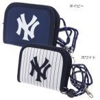 ニューヨークヤンキース 子供用財布 横型ラウンドウォレット 野球 サンアート カッコいい キッズウォレット 野球チームグッズ