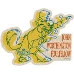 ピノキオ トラベルステッカー 15 ジョンワシントンファウルフェロー ディズニーヴィランズ ステッカー キャラクター グッズ エンスカイ