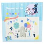 リサとガスパール グッズ 誕生日 飾り付け アニバーサリー デコキット 46ピース 絵本キャラクター