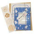 手紙セット リラックマ 水玉 和紙ミニレターセット サンエックス フロンティア 11.5×9.5cm 封筒+便箋+シール