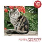 猫 カレンダー 2020年 海外 ラング LANG LOVE OF CATS Persis Clayton Weirs