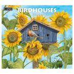 壁掛け カレンダー 2021 ラング LANG Tim Coffey Birdhouses カントリー 鳥
