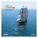 2022年 カレンダー 輸入 壁掛けSAILING TALL BOATS 帆船 TUSHITA 写真 海風景