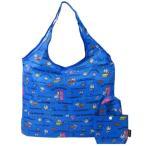 エコバッグ ドラえもん 折りたたみ ショッピングバッグ サンリオ ブルー 45×35cm お買い物かばん キャラクター グッズ