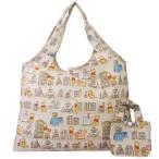 くまのプーさん エコバッグ 折りたたみ ショッピングバッグ ブック ディズニー ジェイズプランニング 45×35cm お買い物かばん
