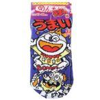 うまい棒 靴下 子供用 キッズ ソックス ジェイズプランニング めんたい味 グッズ 13〜 プチギフト キャラクター