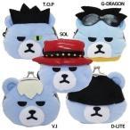 コインケース KRUNK × BIGBANG 2nd ぬいぐるみ がまぐちポーチ ケイカンパニー K-POPアーティスト オフィシャル