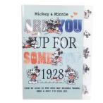 ミッキー&ミニー ファイル ダイカット5インデックスA4クリアファイル 8274 ディズニー カミオジャパン 事務用品 かわいい グッズ