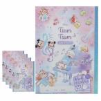 ディズニーツムツム 自由帳 セット 5冊セット 文具セット かわいい ディズニー 小学校 女の子