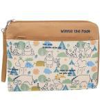 ディズニー くまのプーさん 母子手帳 ケース クラッチバッグタイプ マルチケース キャラクター グッズ クーザ 22.5×17.5×1.5cm ママ雑貨