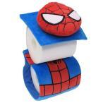トイレ用品 スパイダーマン ぬいぐるみトイレットペー