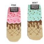 Regular Socks - 靴下 アンクルソックス かわいい 男女兼用靴下 アイスクリーム オクタニコーポレーション 23〜26cm