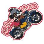 ショッピングワッペン ミッキーマウス アイロン パッチ ワッペン バイク ディズニー Disney  スモールプラネット ステッカーワッペン かわいい