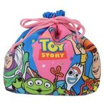 ランチ巾着袋 トイストーリー4 保温保冷 マチ付き きんちゃくポーチ ディズニー 22×28×10cm お弁当きんちゃく