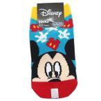 ミッキーマウス 子供 用 靴下 キッズ ソックス アップ BL×RD ディズニー スモールプラネット 13〜18cm かわいい キャラクター グッズ 通販