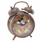 ディズニー Disney  ミッキーマウス 置き時計 アンティーククロック レトロ キャラクター グッズ スモールプラネット おしゃれ 目覚まし時計