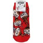 ショッピングムーミン ムーミン 女性用靴下 レディースソックス リトルミイいっぱい スモールプラネット 22〜24cm 可愛い 北欧キャラクターグッズ