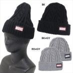 ニット帽 マーベル ニットキャップ スモールプラネット ロゴ グッズ 防寒対策 ウォーマー雑貨 キャラクター