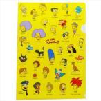 シンプソンズ A4シングルクリアファイル 登場人物 ファイル キャラクター グッズ スモールプラネット 新学期準備雑貨 文具 通販
