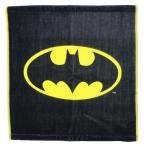 ウォッシュタオル BATMAN ハンドタオル DCコミック グッズ バットマン ロゴ