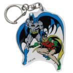 BATMAN ダイカット アクリルキーホルダー キーリング バットマン & ロビン DCコミック スモールプラネット