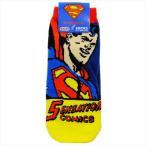スーパーマン 男性用 靴下 メンズ ソックス コミック DCコミック スモールプラネット 25〜27cm アメコミ映画 キャラクター グッズ 通販