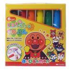 アンパンマン すらすらかけるくれよん マイファーストセイカ 6色クレヨン キャラクター グッズ サンスター文具 幼児文具