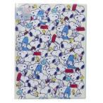 ポケット ファイル スヌーピー 10ポケット A4 クリアファイル ピーナッツ グッズ いっぱい キャラクター