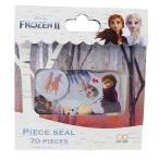 アナと雪の女王 2 ピースシール フレークシール 3D柄 ディズニー グッズ キャラクター