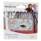 フレークシール アナと雪の女王 2 ピースシール ディズニー 2D柄 7柄70枚入り
