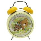 目覚まし時計 リラックマ チャイロイコグマ ツインベルクロック サンエックス サンタン 新生活 置時計 キャラクター